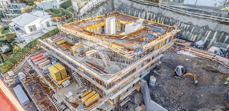 byggeplads nybyggeri luksushuse roger federer
