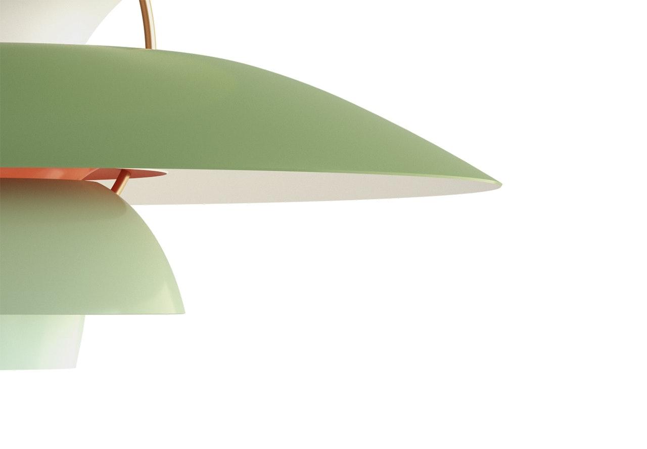 lampe PH grøn Louis Poulsen