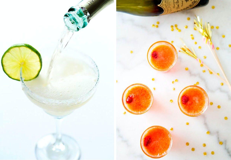 champagne cocktail nytår