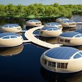 EcoFloLife flydende huse på vandet