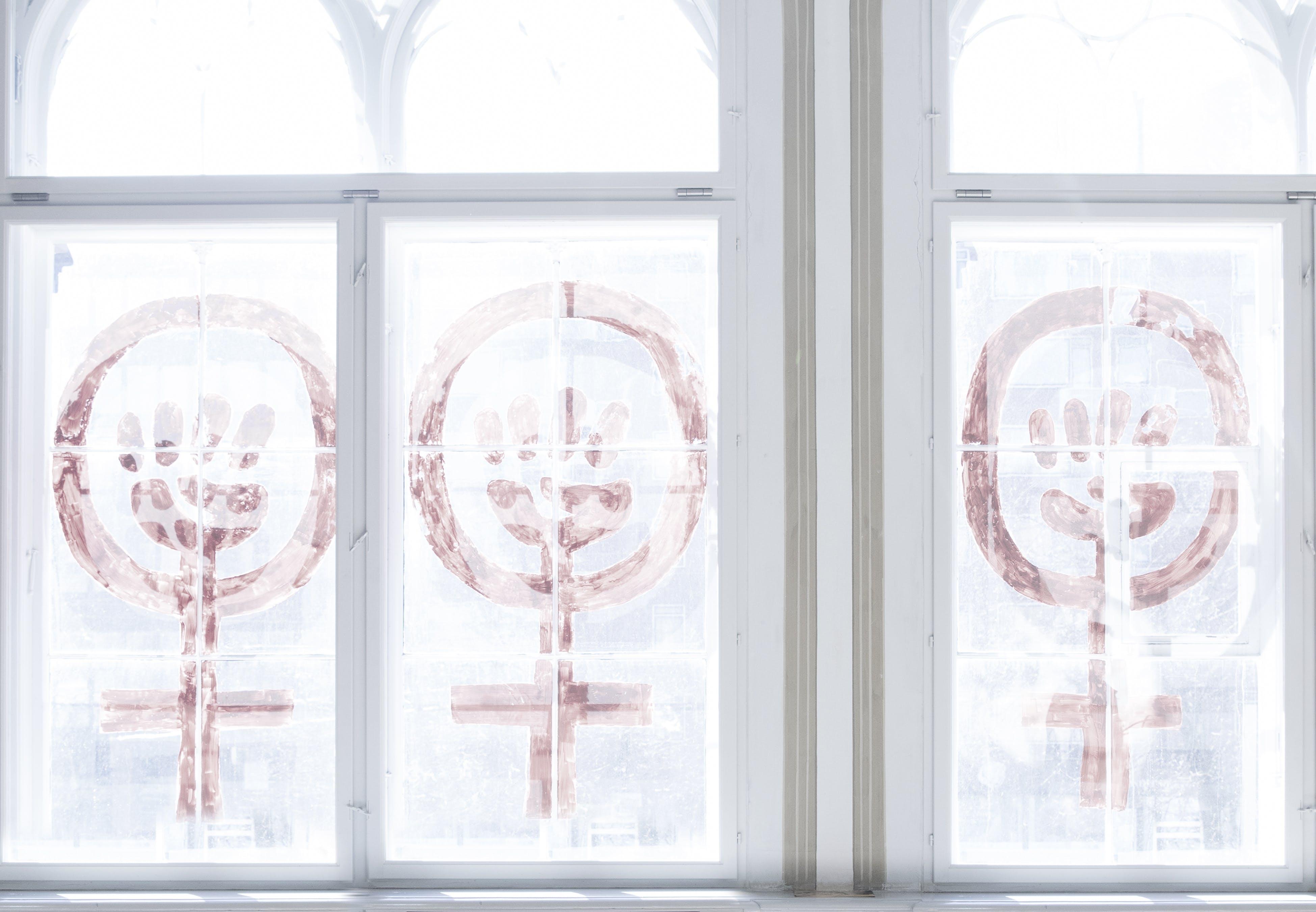 Kvindehusets vindue på nansensgade