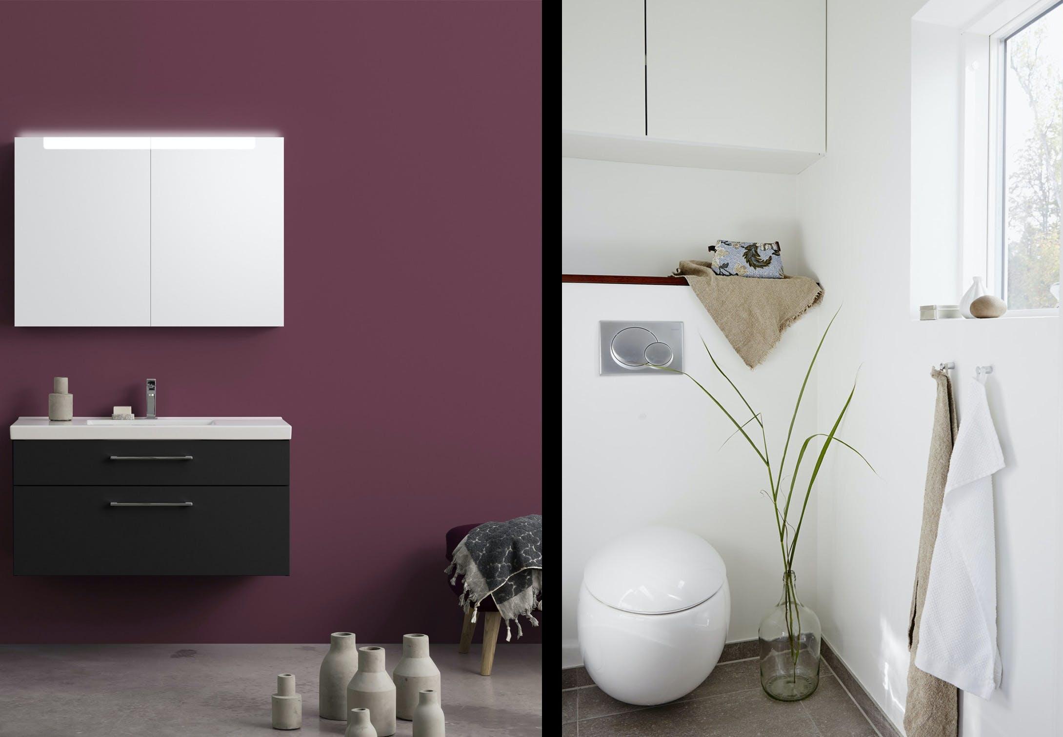 badeværelse renovering lille badeværelse inspiration