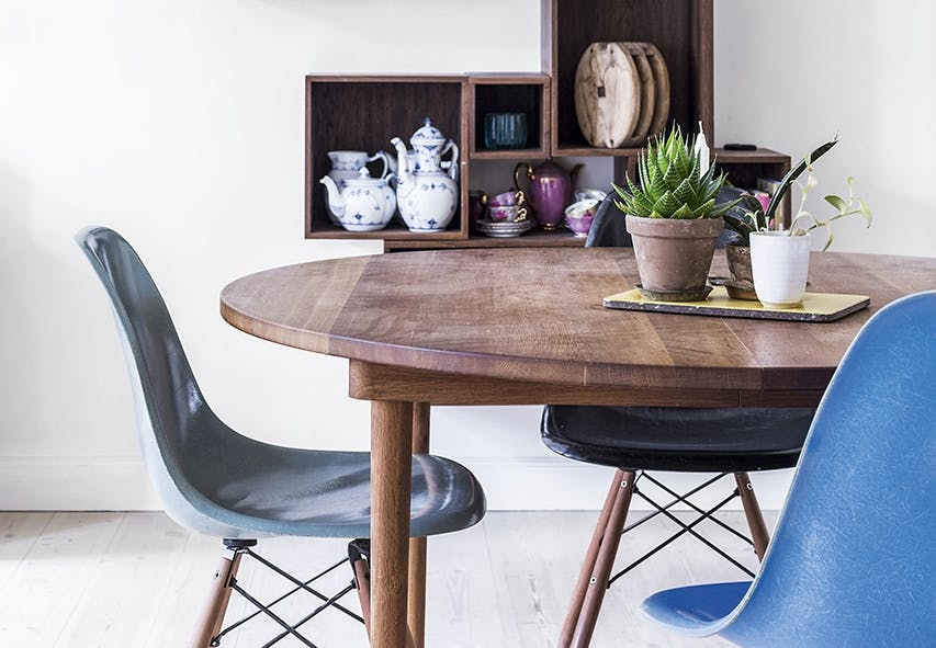 smart hjem snedker opbevaring spisebord