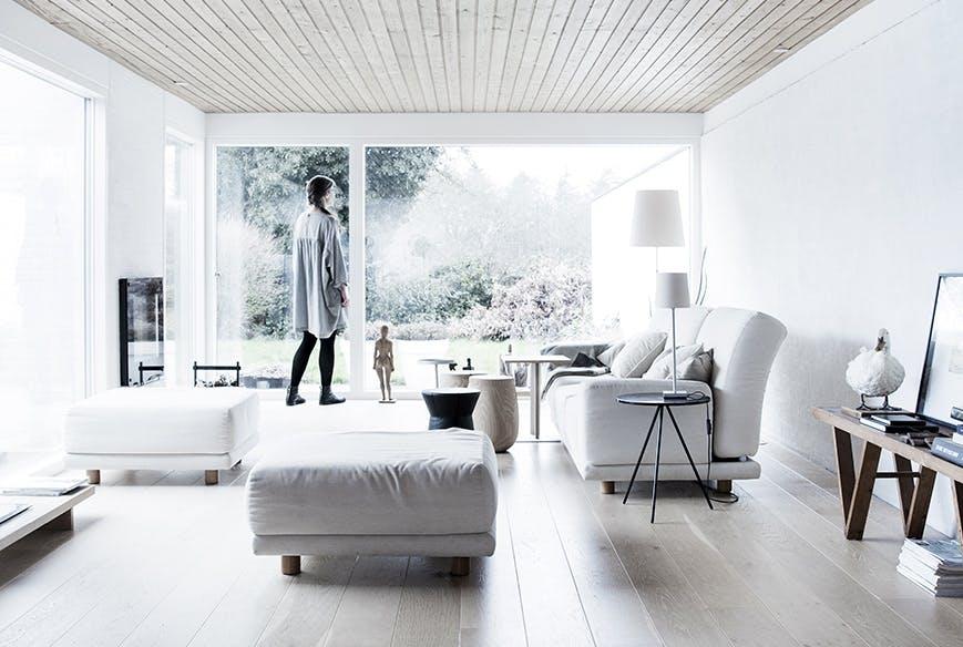 arkitekttegnede huse inspiration