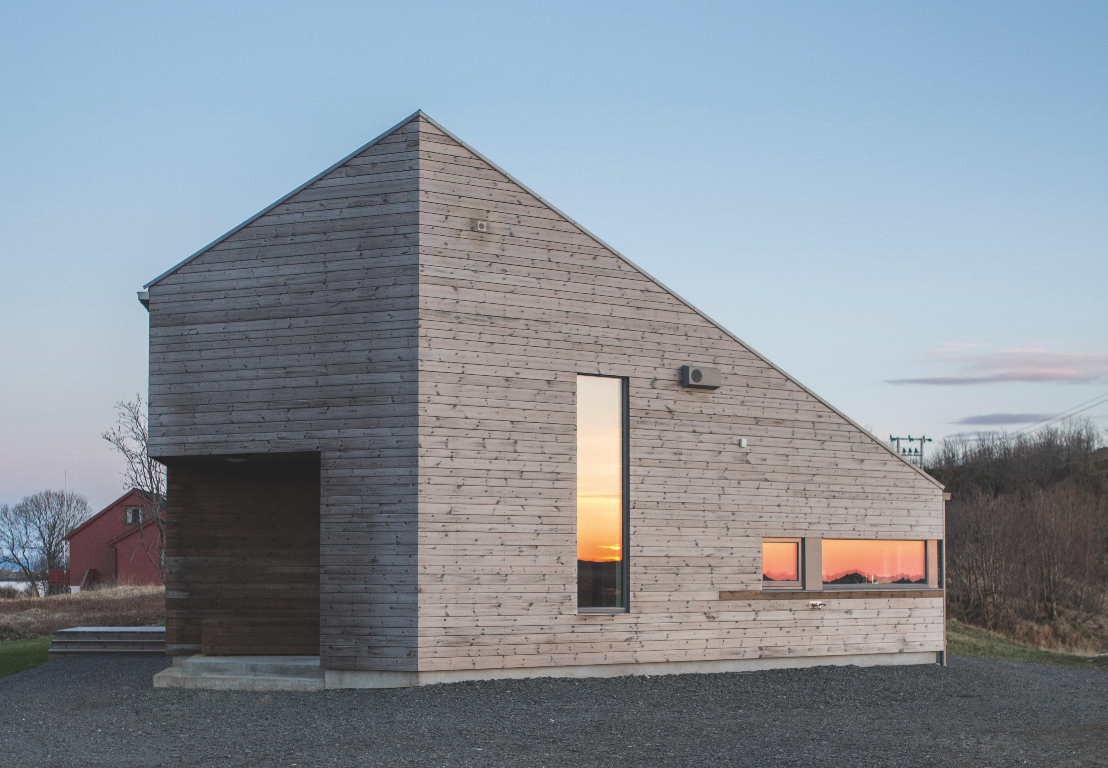 Feriehus i norge i et med naturen