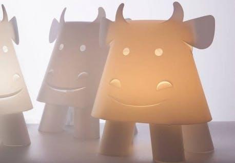 ZOOLIGHT KO lampe formet som en ko