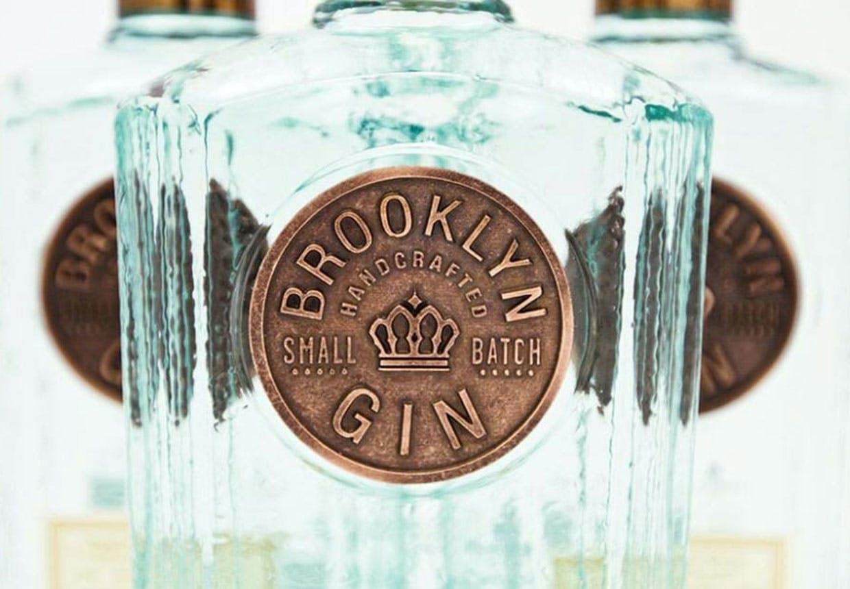 Ginflaske fra Brooklyn