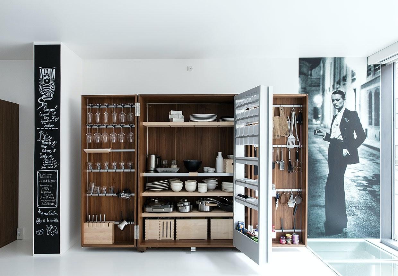 """Walk-in"" køkkenskab"