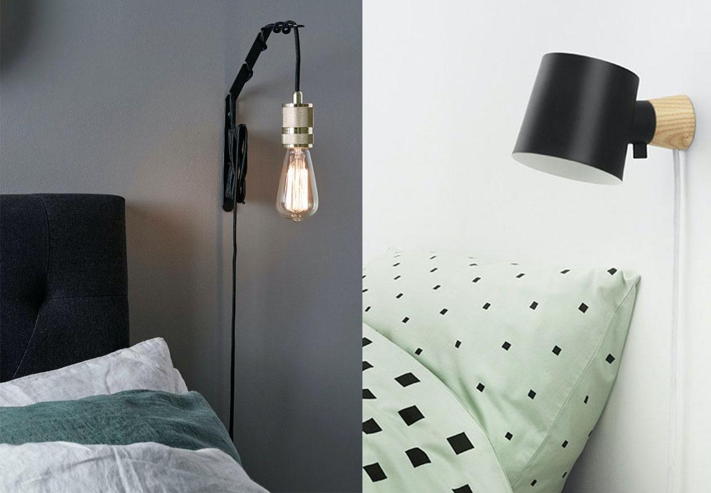 Picture of: Smukke Vaeglamper Til Sovevaerelset Bobedre Dk