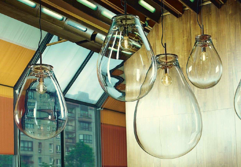 Mundblæste lampeskærme fra House Copenhagen.