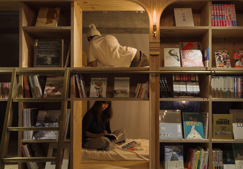 Book and Bed i Tokyo - boghotellet.