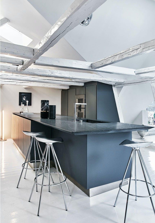 Et køkken med plads
