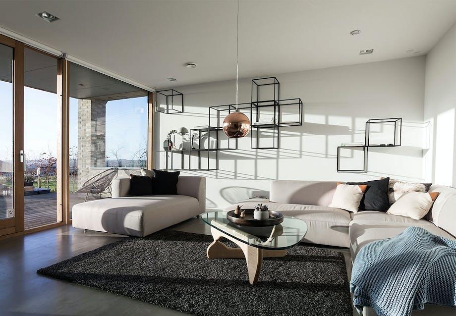 En stue med kant og med plads til alle