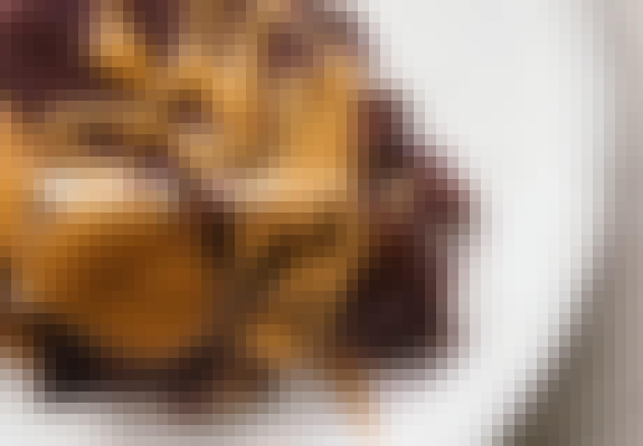 nem kage Popkage med chokolade og karamel