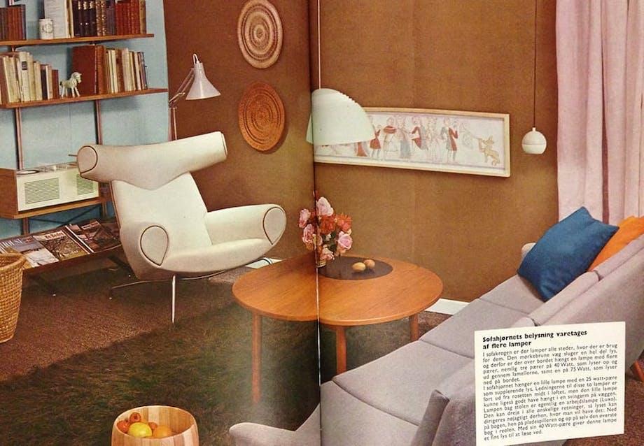 Ox Chair på Bo Bedre i 1961