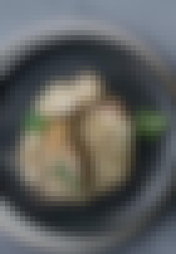 Nordisk risotto med perlebyg og jordskokker