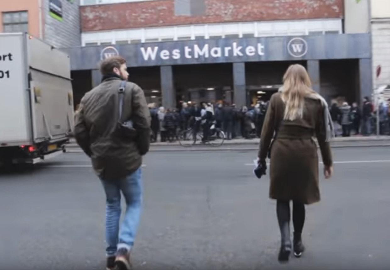Westmarket ved Vesterbrogade