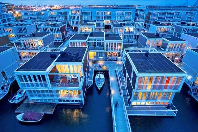 Kanalby i Amsterdam