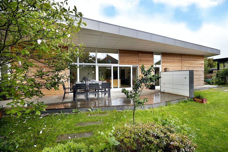 Arkitekttegnet familiehus