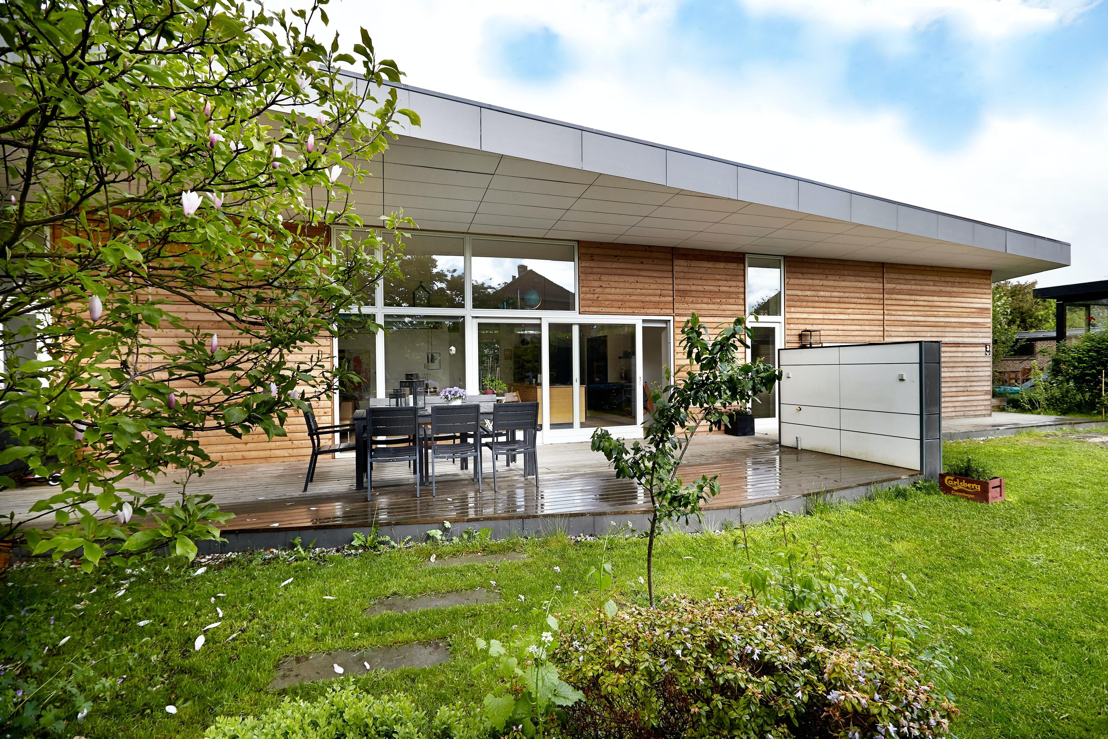 Arkitekttegnet hus til familie på 4