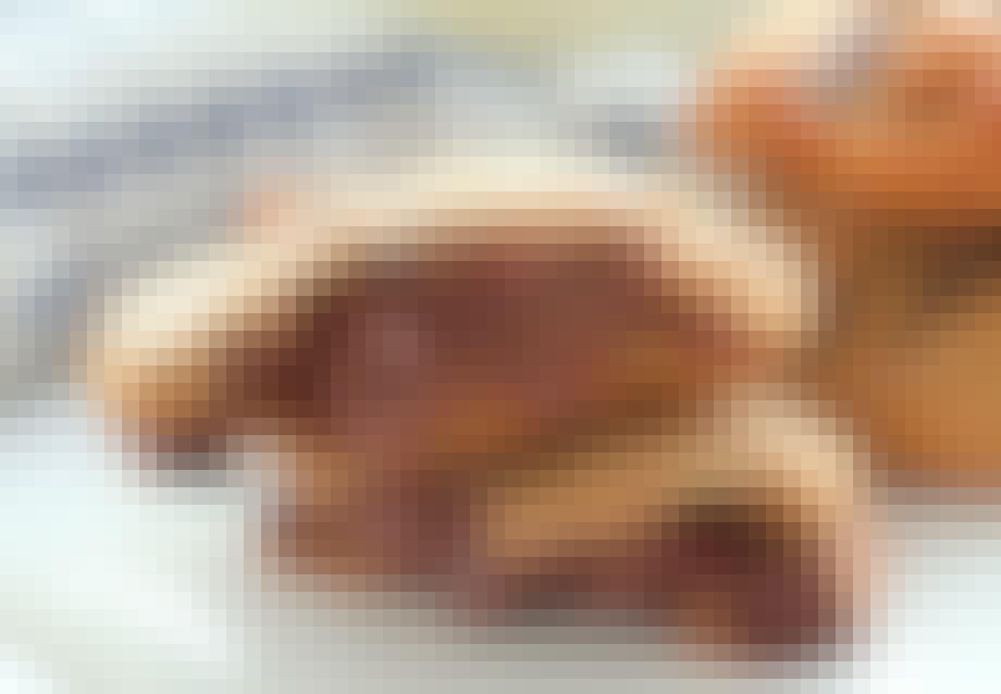 Nutella cookies med chokolade og peanutbutter