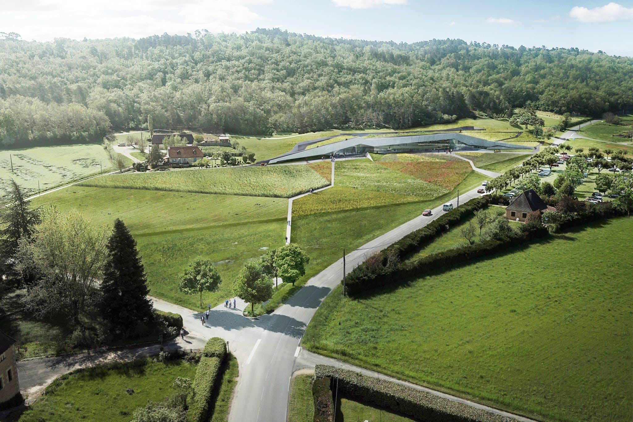 Norske Snöhetta har opført nyt museum for malerier