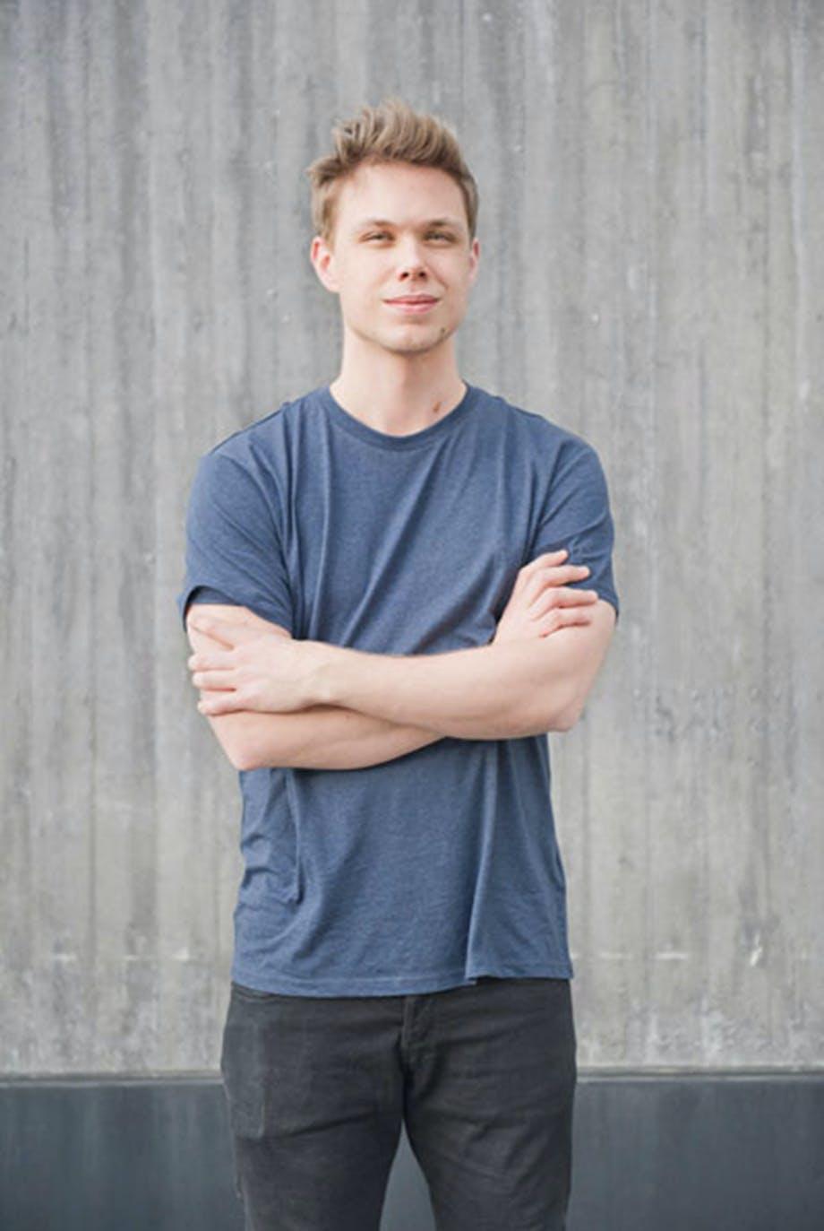 Designer Bjørn van den Berg