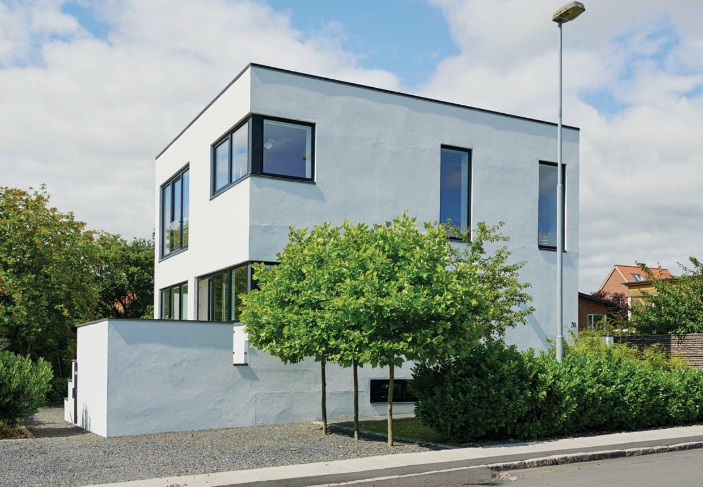 Funkisvilla med ny førstesal af arkitekt Rasmus Bak