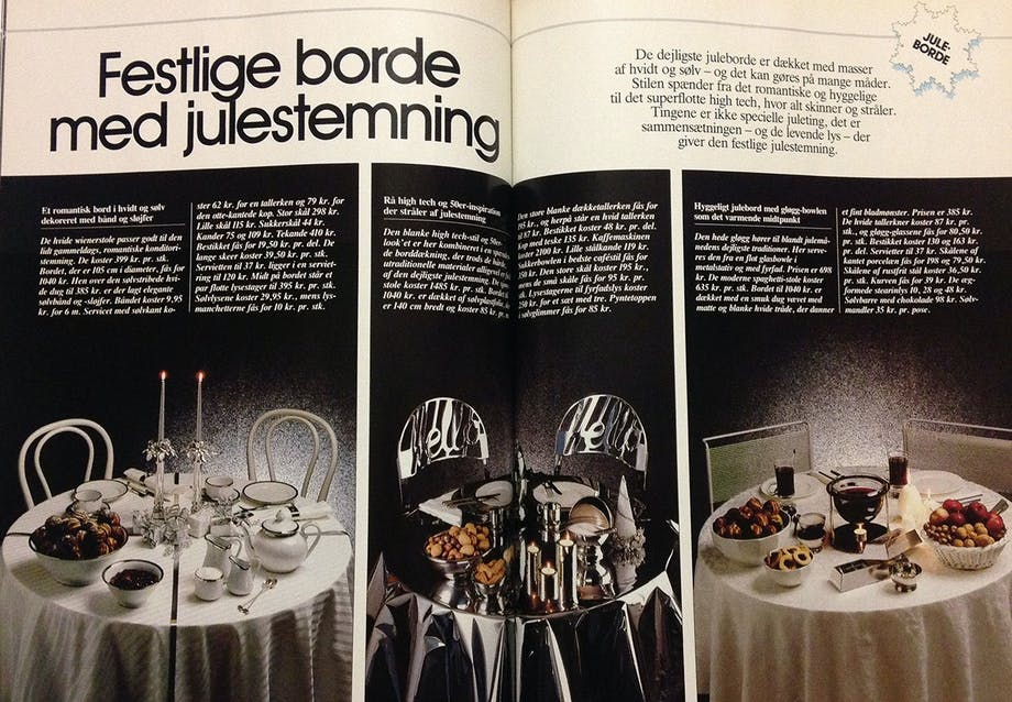 1986 - High tech juleborde
