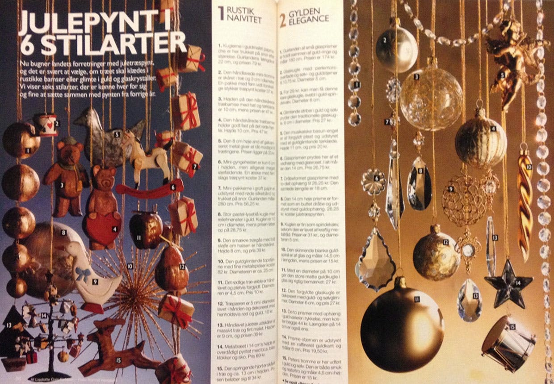 1993 - Julepynt i forskellige stilarter
