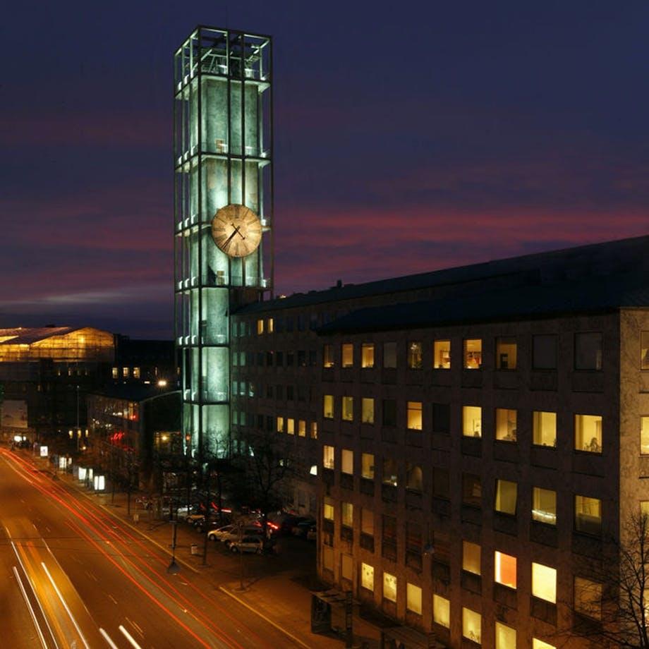 Arne Jacobsens rådhusur i Århus