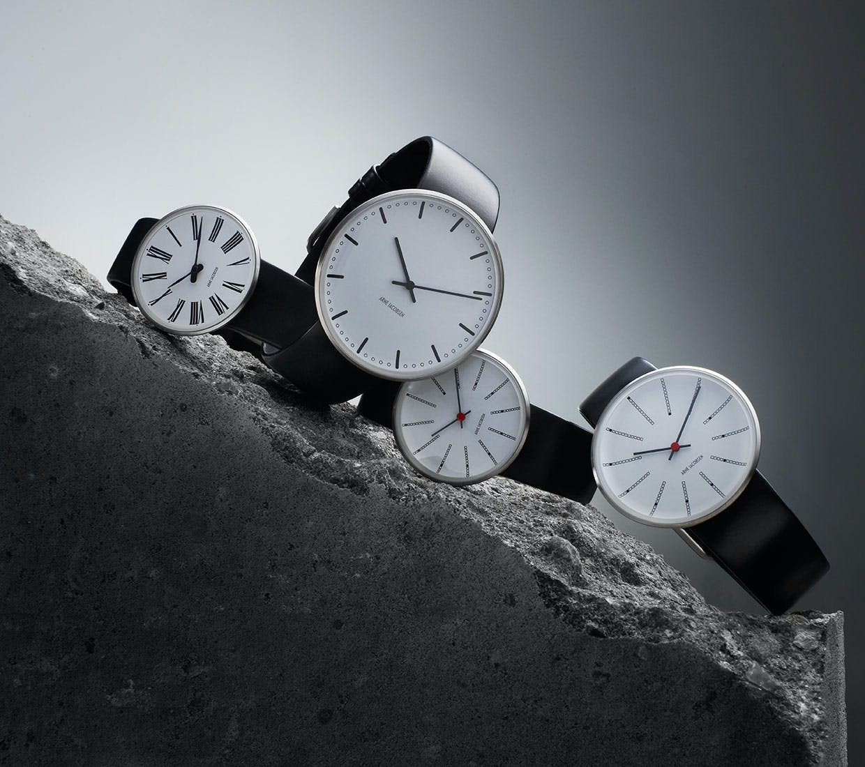 Armbåndsure i Arne Jacobsen design