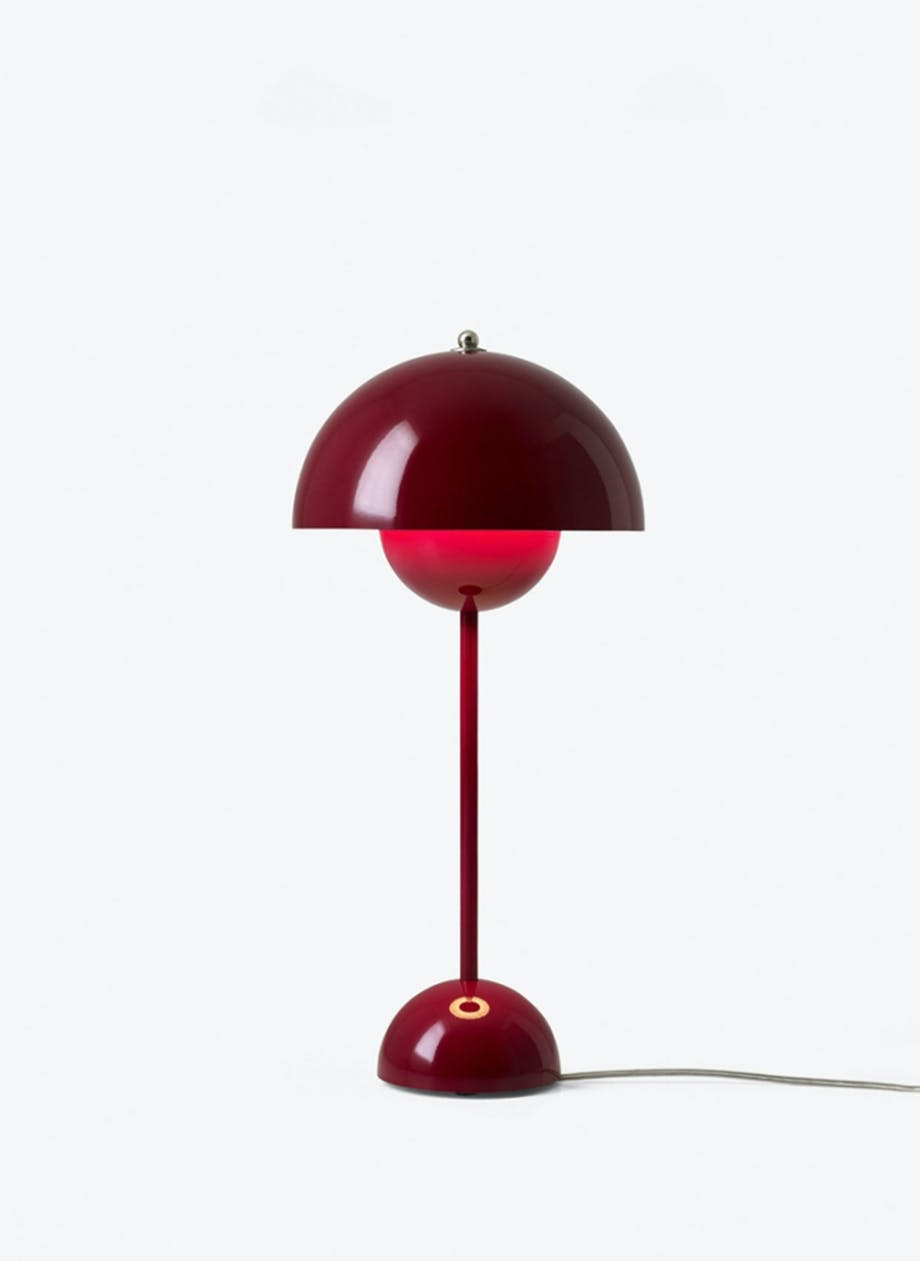 Flowepot bordlampe