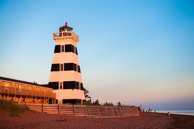 7. Fyrtårn på Prince Edward Island