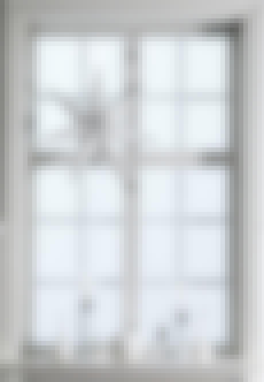 Lys i vinduet