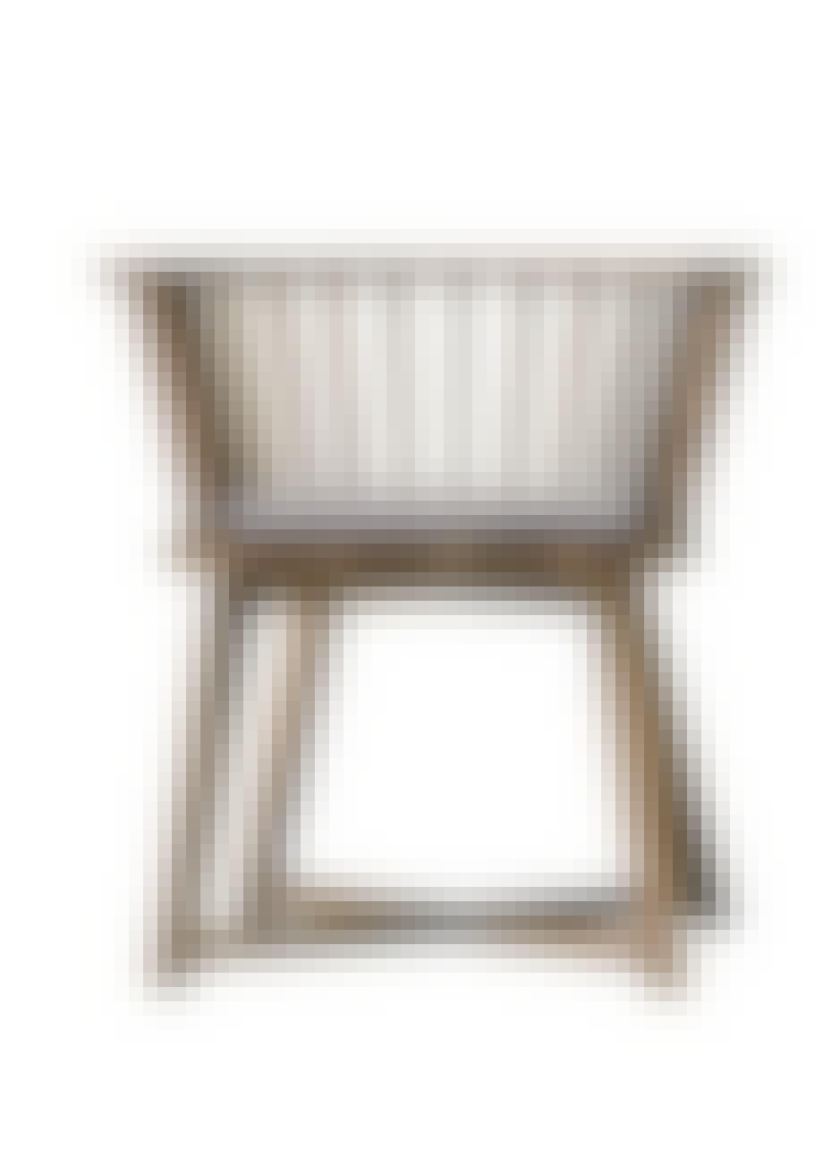 Spisebordsstol i amerikansk valnøddetræ