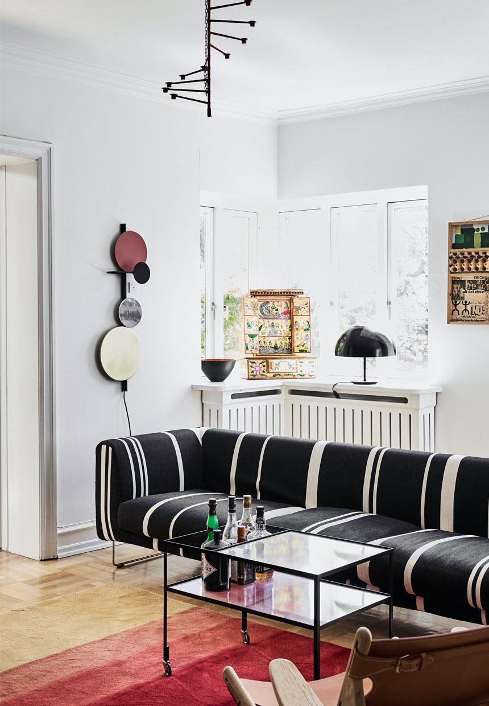 Villa med et eklektisk og farverigt miks