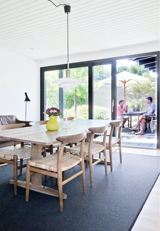 Spisestue med dansk design