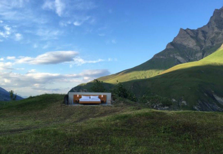 Nulstjernet hotel i Alperne fra Atelier für Sonderaufgaben.