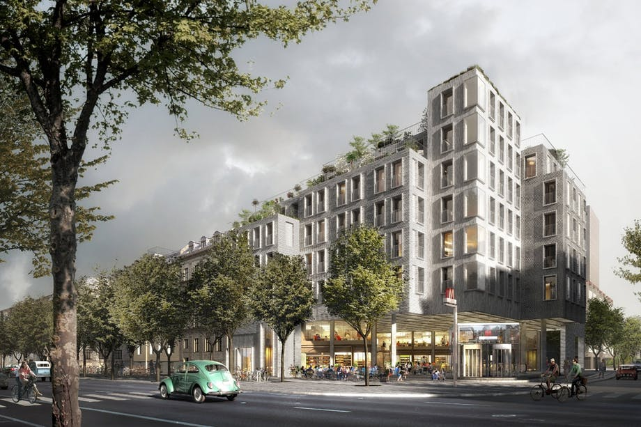 Nyt mad- og kulturhus klar til ny metrostation