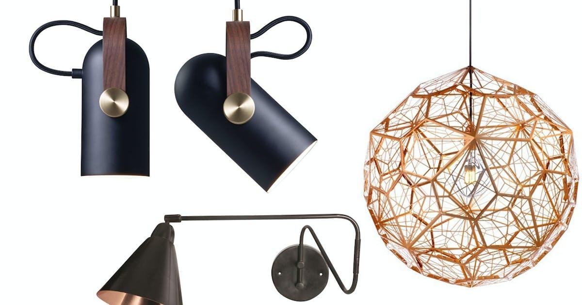Fersk 49 nye lamper - designer-belysning for alle | bobedre.dk DQ-39