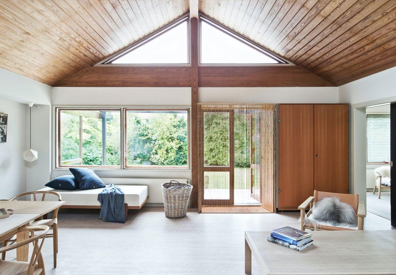 Arkitekt Pernille Arends' hus i Gentofte