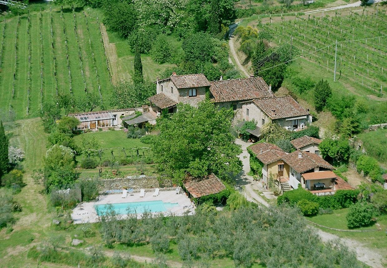 Bolig midt i Toscanske vinmarker, som du kan bytte dig til via bytbolig.com