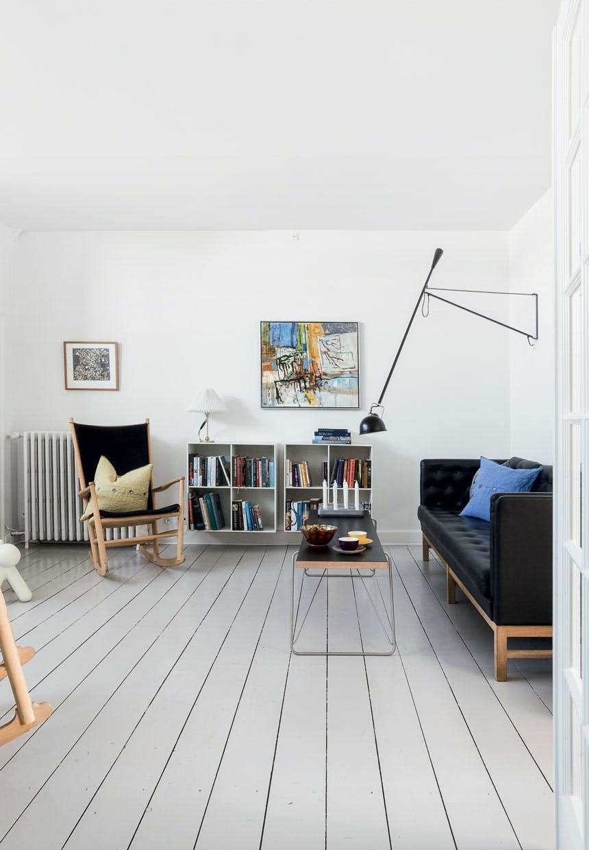 Stue med klassisk dansk design