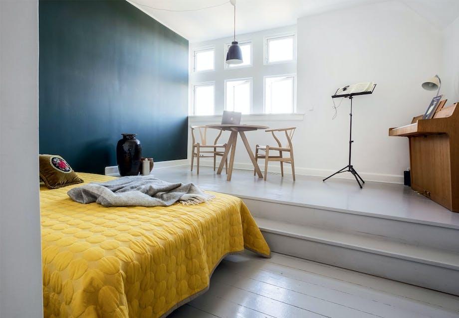 Arbejdsrum og gæsteværelse i ét