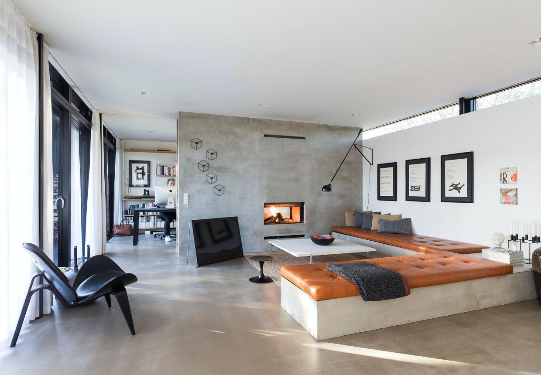 Rasmus Baks sommerhus i minimalistisk stil