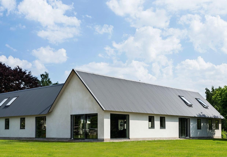 Moderne opbygning af gammelt landsbrugssted