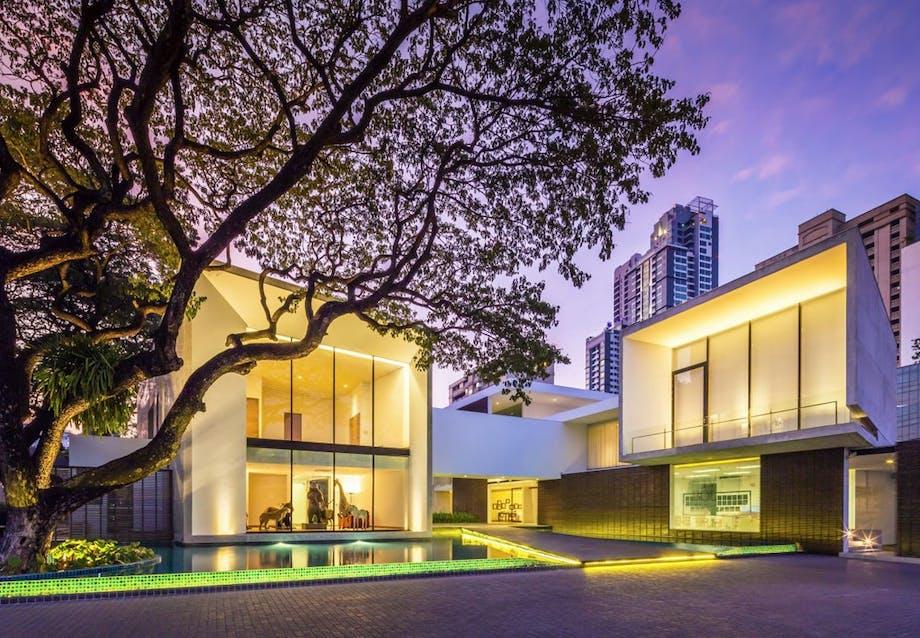 Fascinerende arkitektur i Thailand