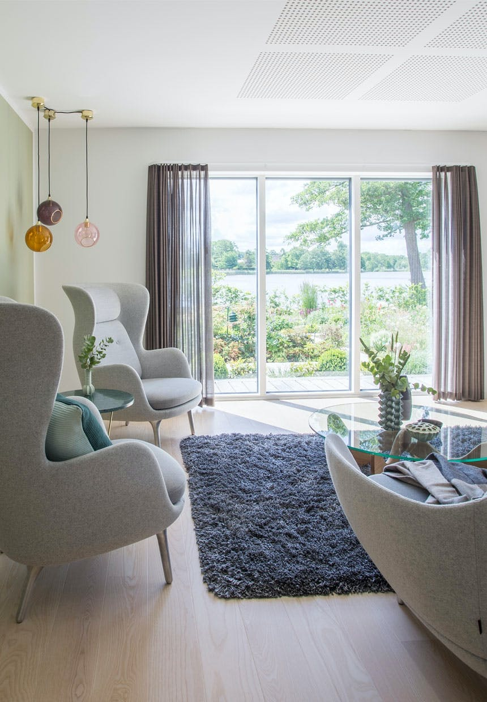 Hus i Hornbæk med gode uderum