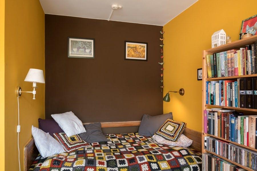 Nogle har de studerende har sagt ja tak til farver på værelserne